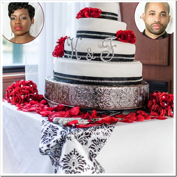 Fantasia-Barrino-Wedding-Cake