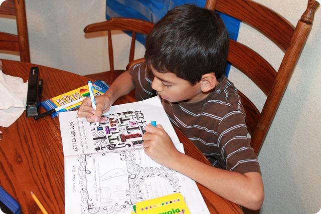 The Homeschool Hyper Active Journal