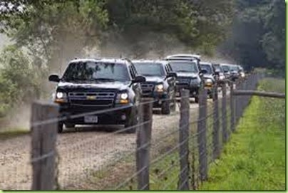 motorcade martha's vine