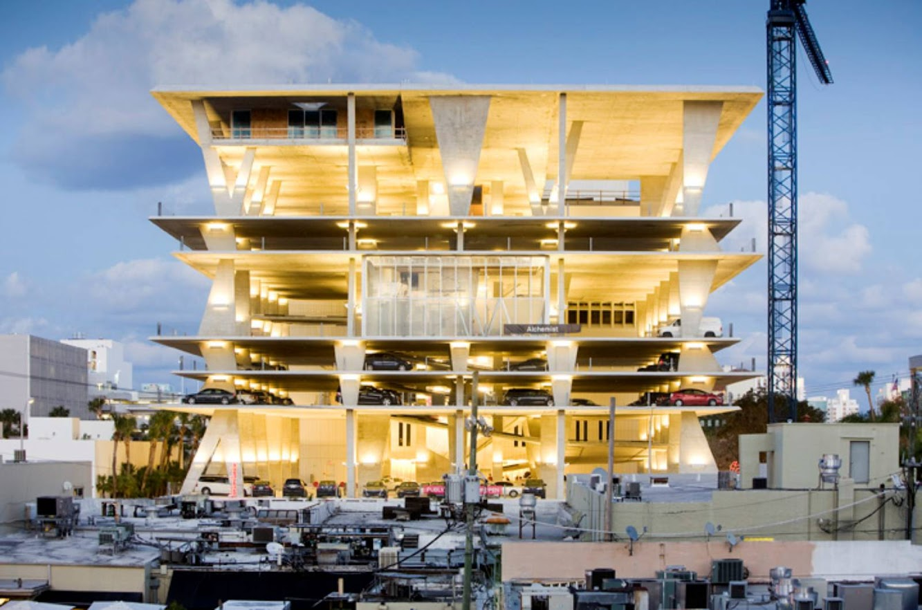 Miami Beach, Florida, Stati Uniti: 1111 Lincoln Road by Herzog & De Meuron