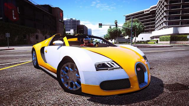 Bugatti Veyron - Grand Sport para GTA 5