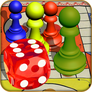 mr lucky guy toss the dice, be wise with move and become realistic ludo champion APK Icon
