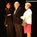 Hacen entrega de los premios, Vicente Roncero, Juan Grecos y Rosa Gil del Bosque