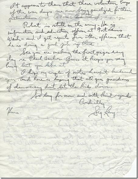 Bertrand Gearhart 11_17_1945 page 2 handwritten