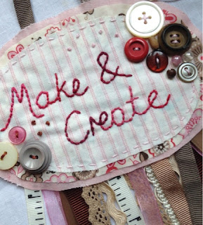 Make & Create at rebeccamaryjane's studio