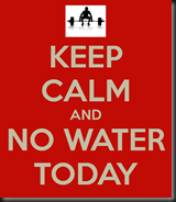 Running without water today
