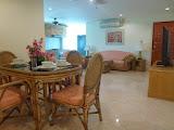 large 2 bedroom 2 bathroom apartment in butterfly garden     to rent in Pratumnak Pattaya