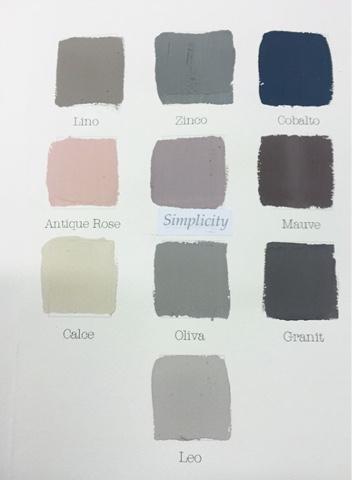 Smutsrosa färgkod