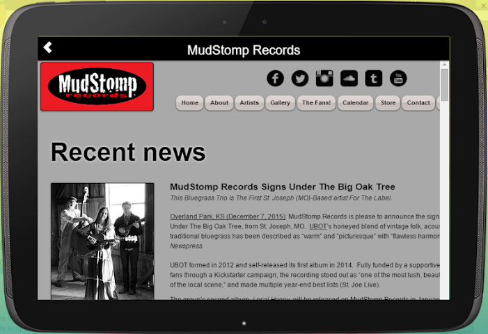 android MudStomp Records Screenshot 5