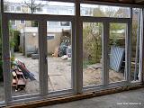 Kunststof kozijn binnenzijde 2X openslaande deuren