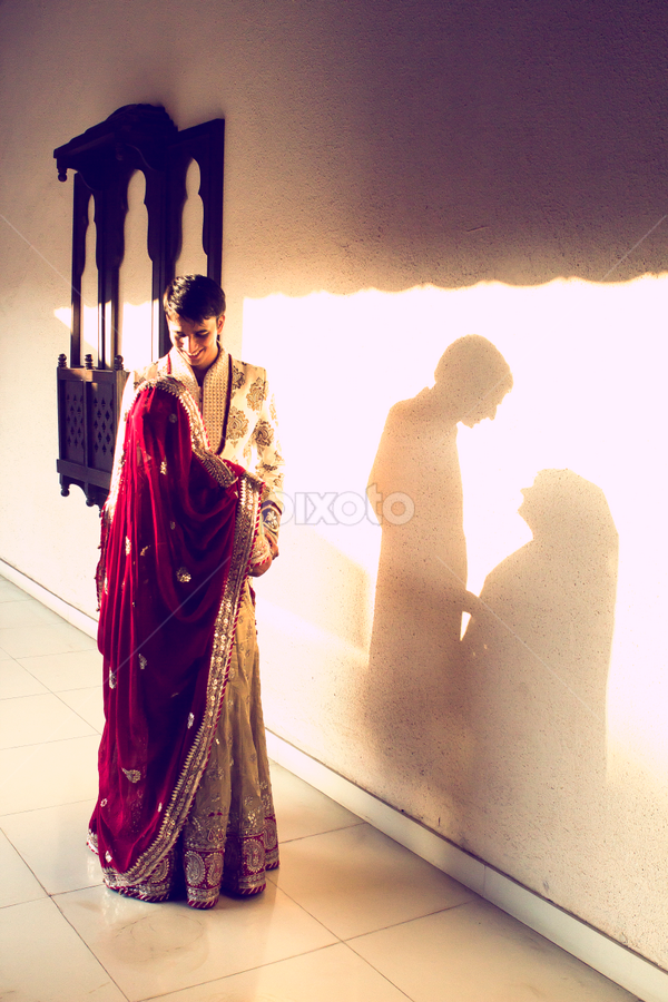 by Shashank Sharma - Wedding Bride & Groom
