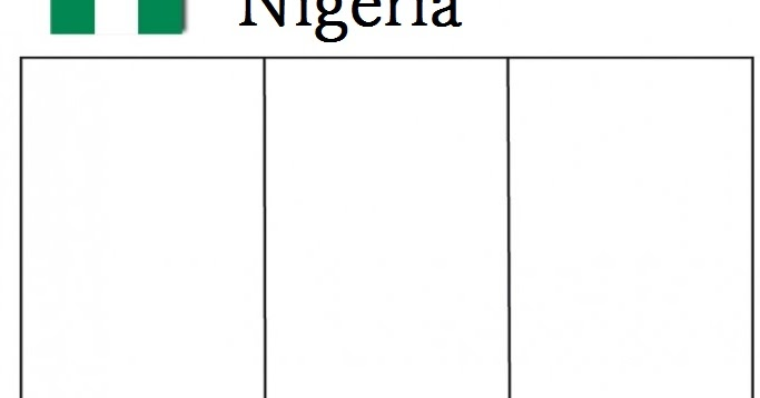 Geography Blog Nigeria Flag Coloring Page Nigeria Flag Coloring Page