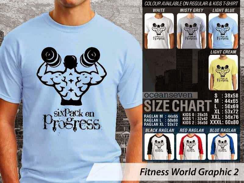 KAOS Six Pack on Progress Fitness & Gym Series distro ocean seven
