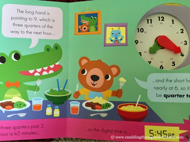 Looking inside What's The Time, Clockodile - a book by Little Tiger Press UK