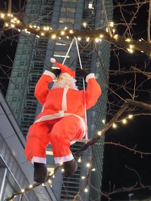 渋谷ハチ公前広場のクリスマスイルミネーション2015