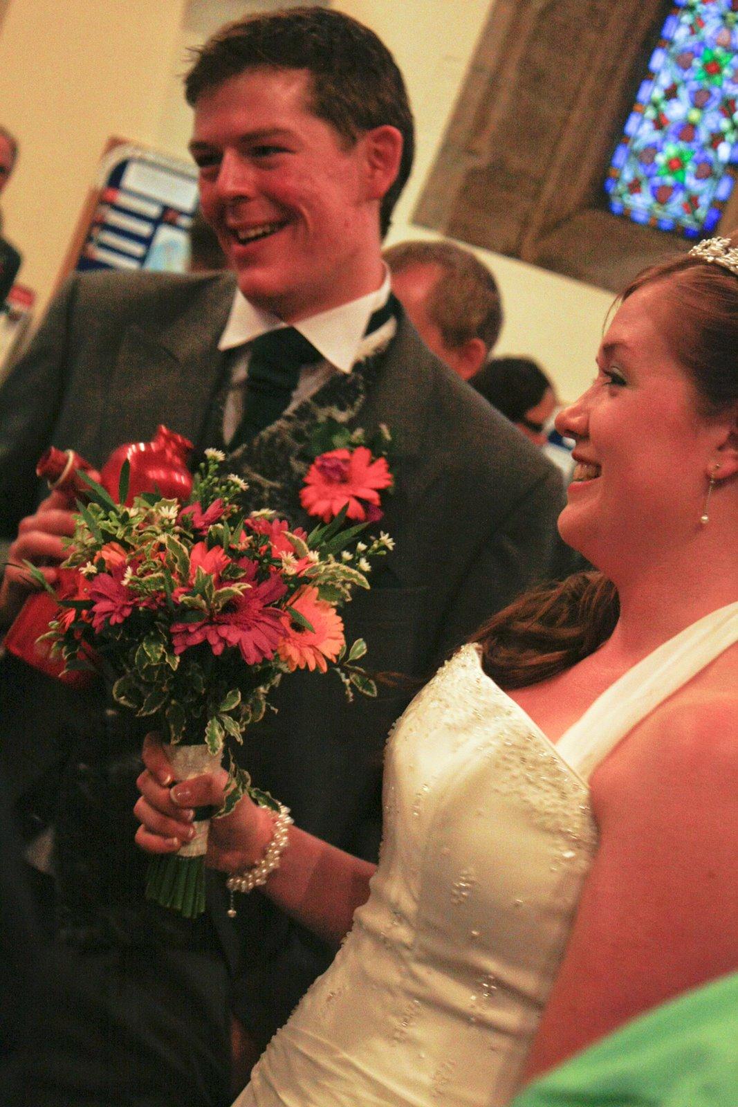 gerbera wedding flowers