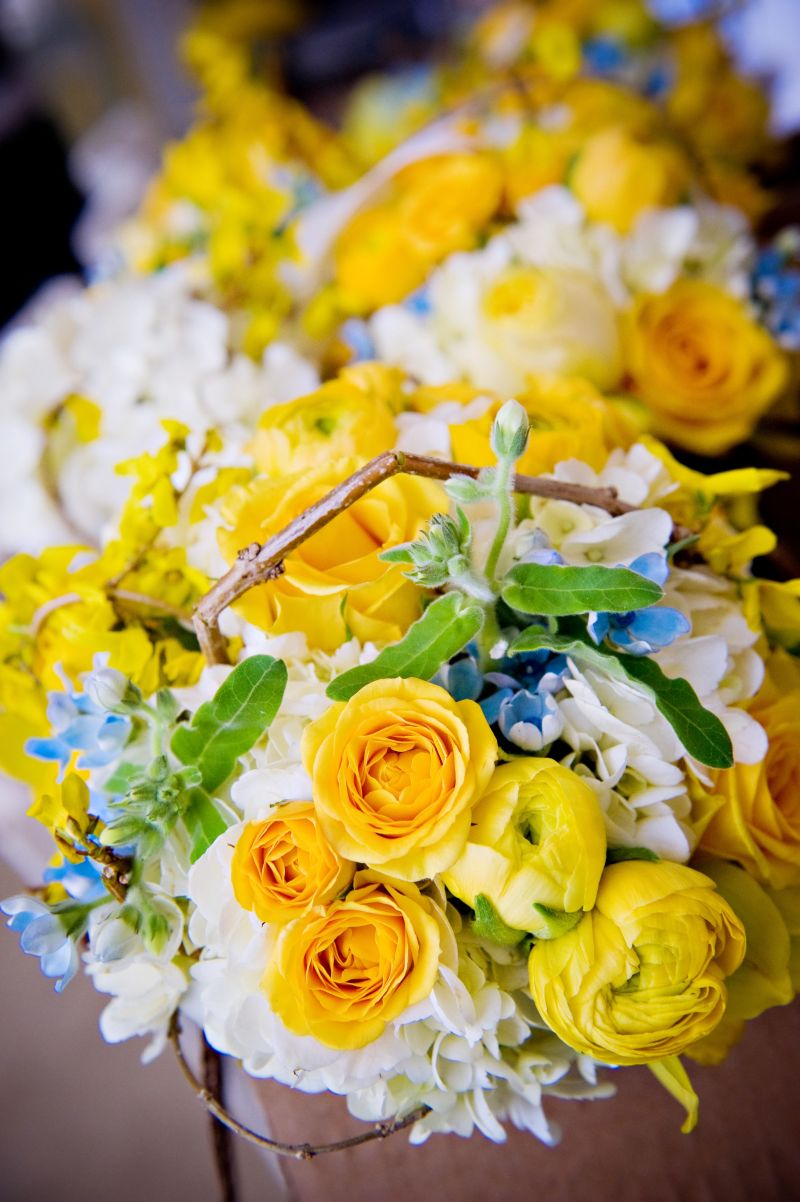 Stunning Teal And Yellow Wedding Colors Images - Styles & Ideas 2018 ...