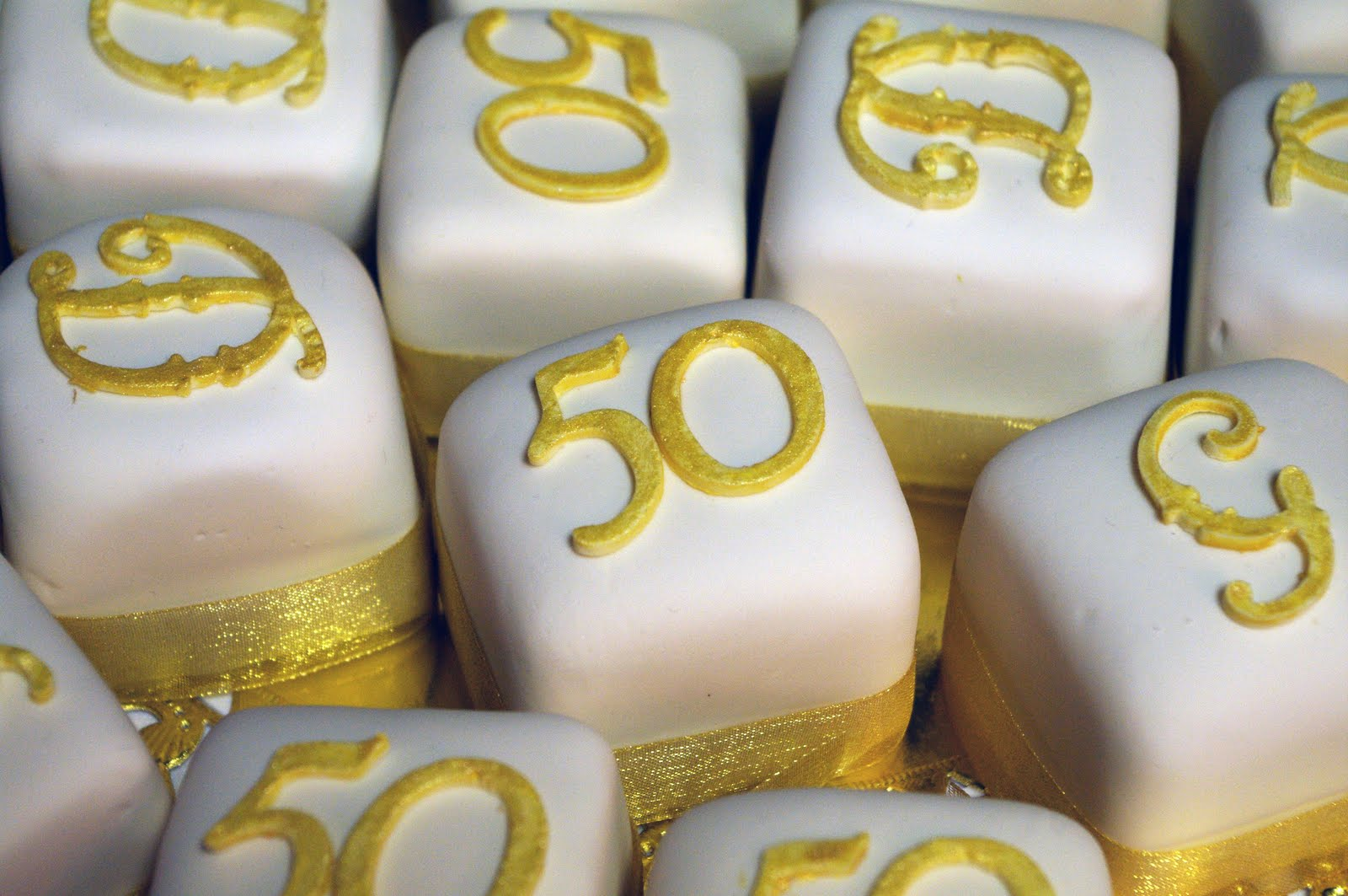 Cricut Cake - 50th Anniversary