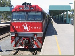 logo of The Ghan
