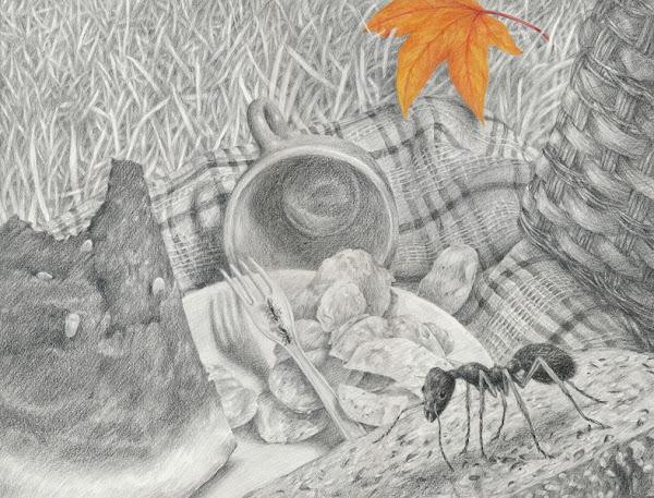 annika romeyn drawing
