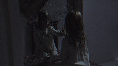 Ivy George plays Leila in Paranormal Activity: The Ghost Dimension from Paramount Pictures.