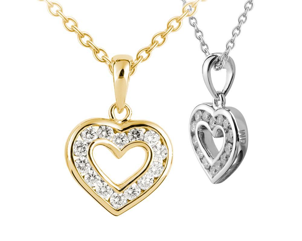 9  Heart Shaped Diamond
