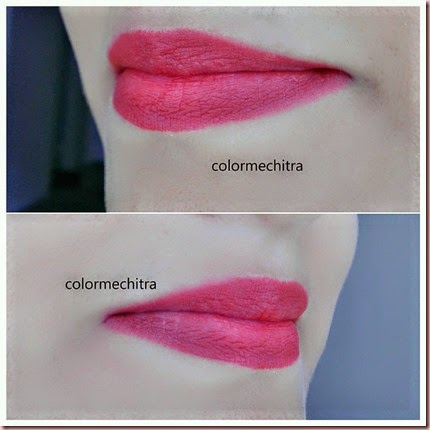 Chitra Pal MAC Retro Red Ruby Woo  (1)