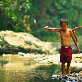 Home.... by Jaka Ferdiyanto - Babies & Children Children Candids
