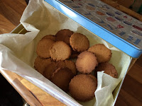 Honey biscuits rationing