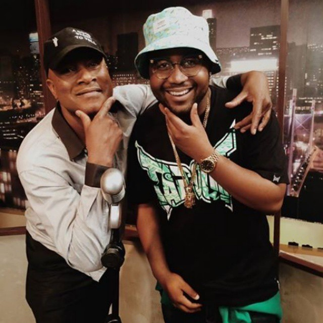 Doc Shebeleza with Casdper Nyovest