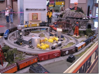 IMG_0671 Lionel Display Layout at the WGH Show in Puyallup, Washington on November 21, 2009