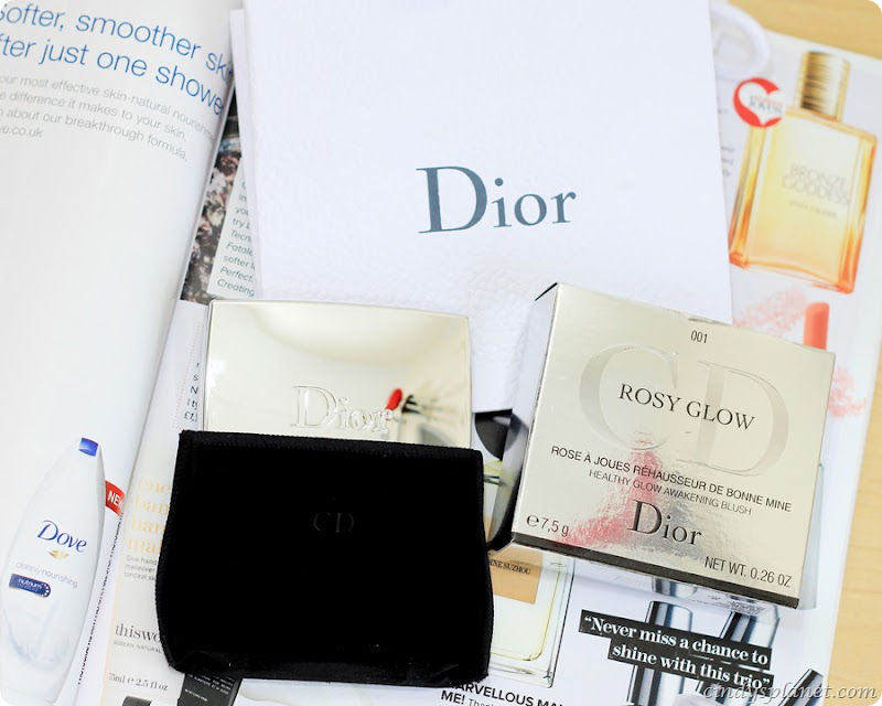 Dior Rosy Glow Blusher Review7