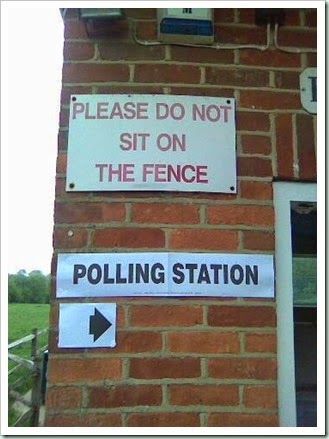 election fence