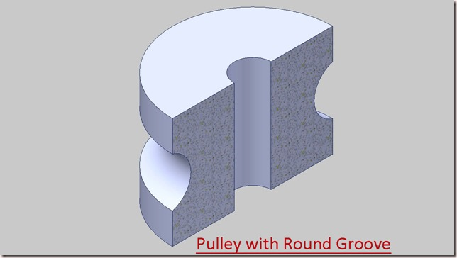 Pulley with Round Groove_2