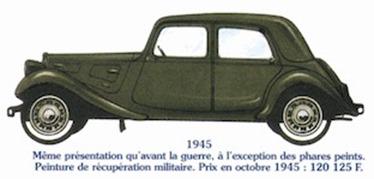 Citroen Traction 11 1945