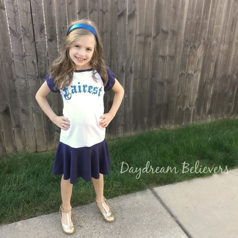Daydream Believers for Jaxon Paige Descendants Dress