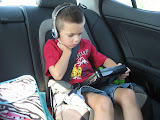 Bryan watching a movie in the car on the way to Nashville 09022011