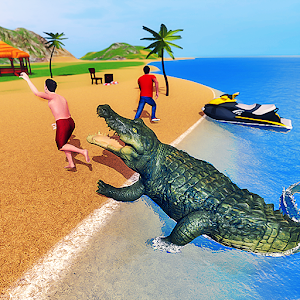 Crocodile Simulator 2019: Beach & City Attack For PC / Windows 7/8/10 / Mac – Free Download