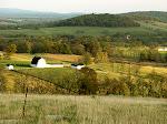 Panorama, Sky Meadows State Park, Virginia.