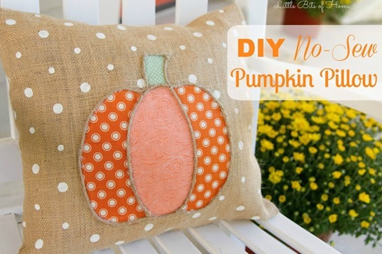 pumpkin pillow graphic