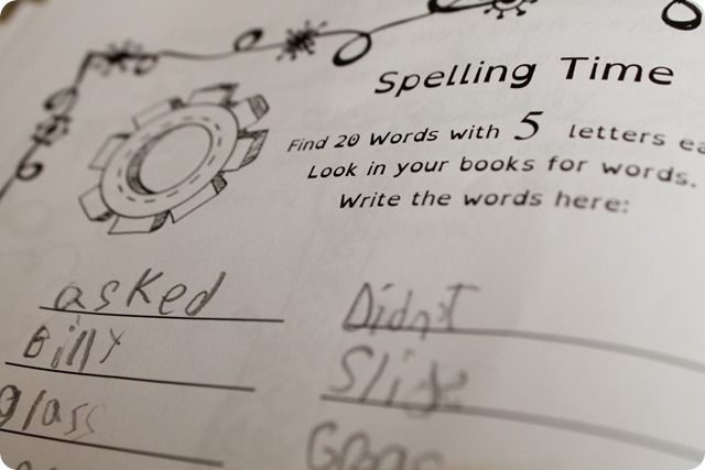 The Thinking Tree Hyper-Active Homeschooling Journal