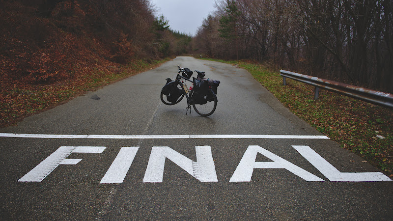 Linia de final de la care mai am mai bine de 200 de kilometri.