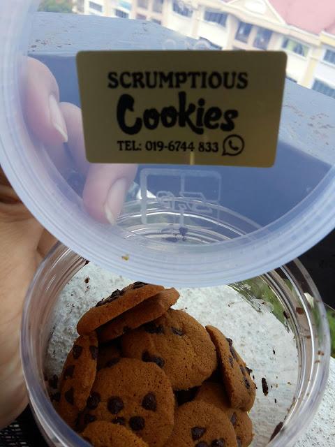 Cookies Coklat Chips Rangup dan Sedap | Tanpa Telur dan Kacang