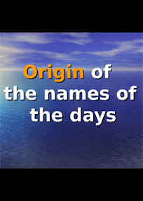 Cover of Aengor's Book Origin of the Names of The Days