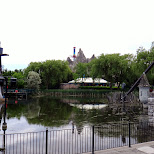 a swamp at Canada's Wonderland in Vaughan, Ontario, Canada