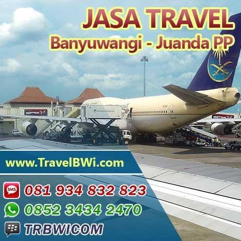 Travel Bandara Juanda Surabaya ke Banyuwangi