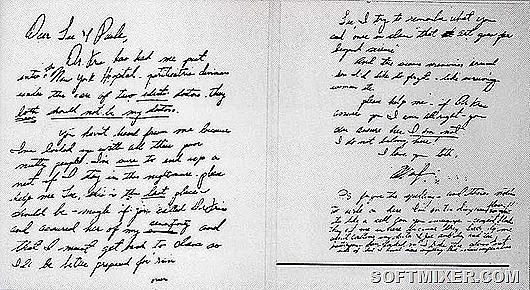 marilyn-monroe-writing