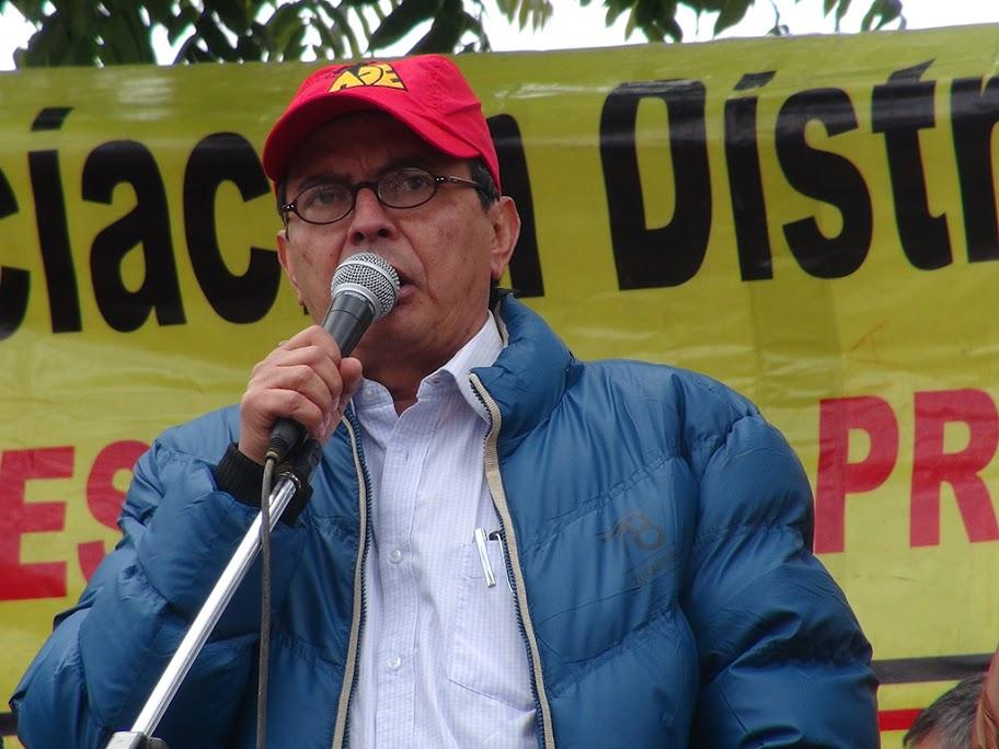 Concentración del magisterio en Bogotá: Jornada única sí, pero en condiciones dignas