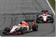 Roberto Merhi e Will Stevens nel gran premio del Canada 2015