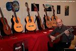 Exposición de Guitarrería, Materiales y Pictórica y Giovanni Grano, concertista.